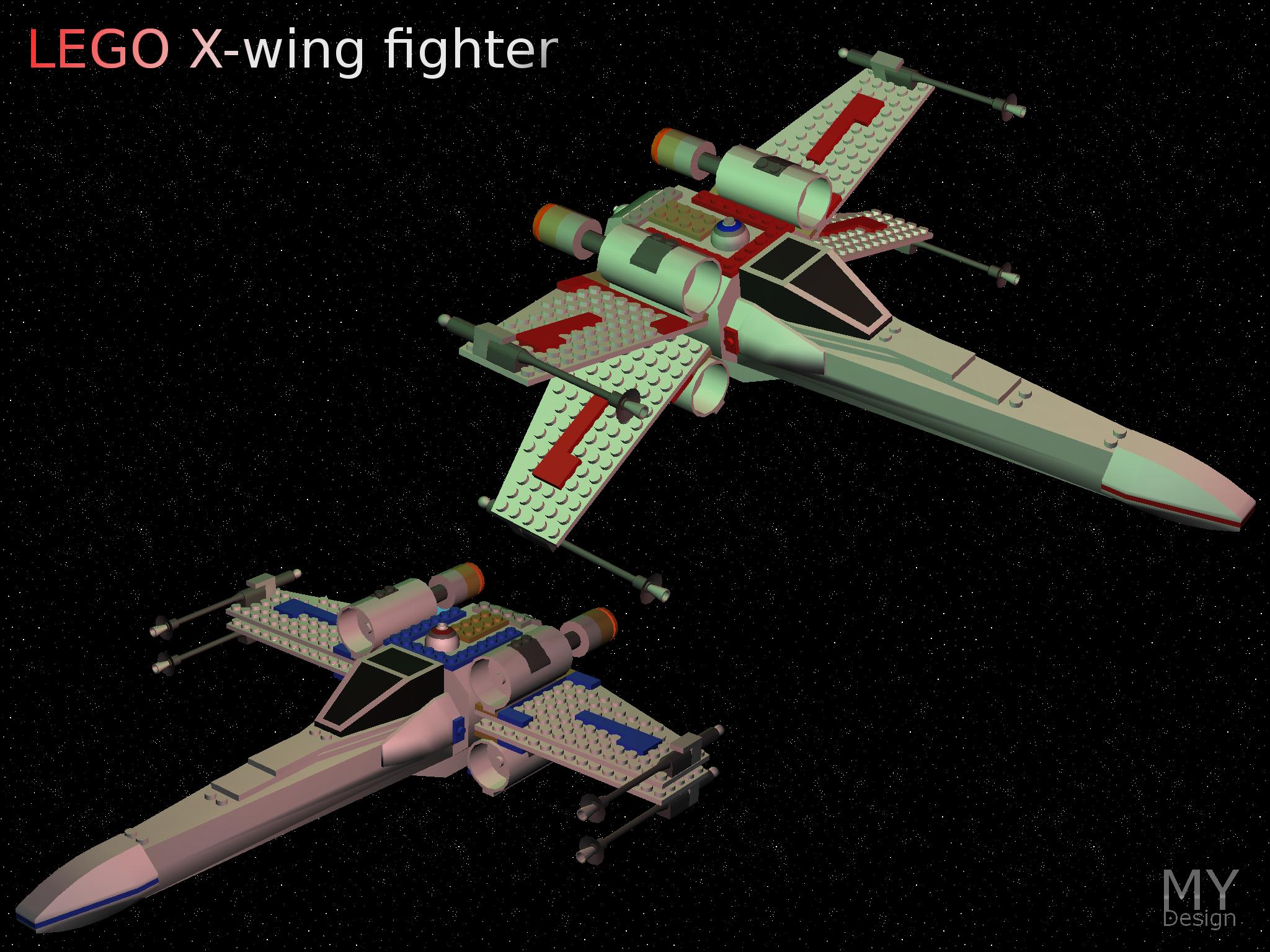 lego x wing fighter image mod db. Black Bedroom Furniture Sets. Home Design Ideas