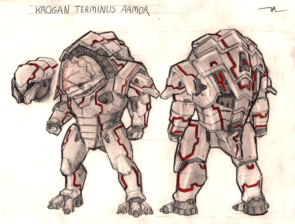 Krogan Without Armor For krogan without armor.