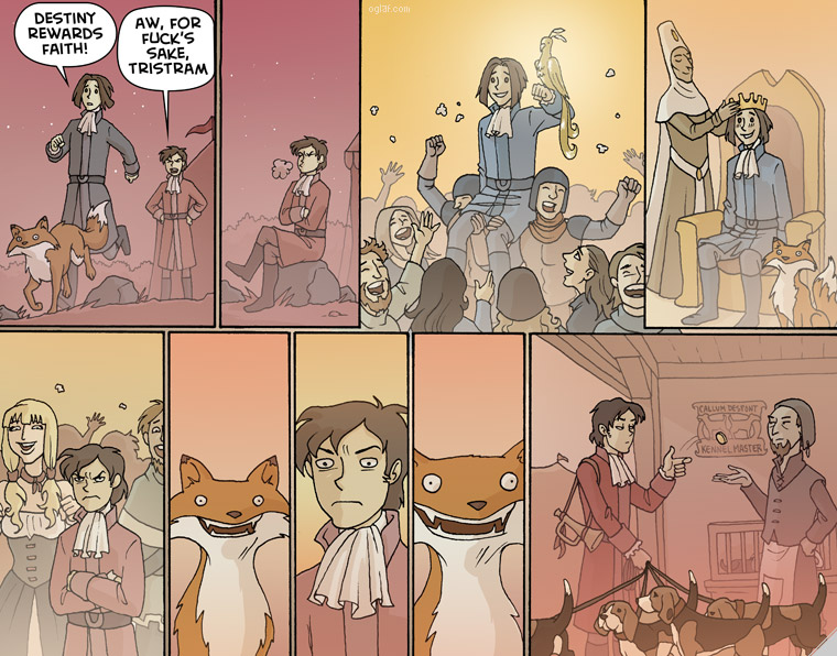 Trudy Cooper Oglaf 289 Part Two Image - Humor, Satire