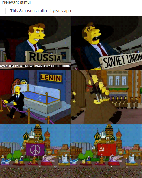 low countries in the simpsons essay