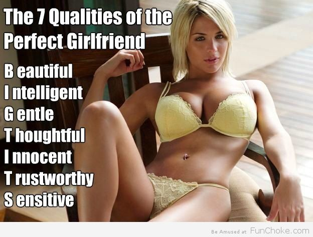 What makes a perfect girlfriend
