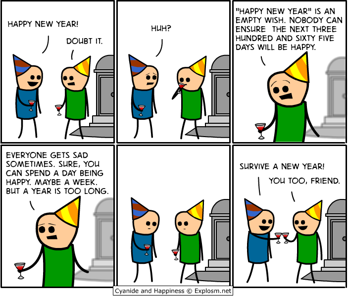 Survive the new Year! image - Humor, satire, parody - Mod DB