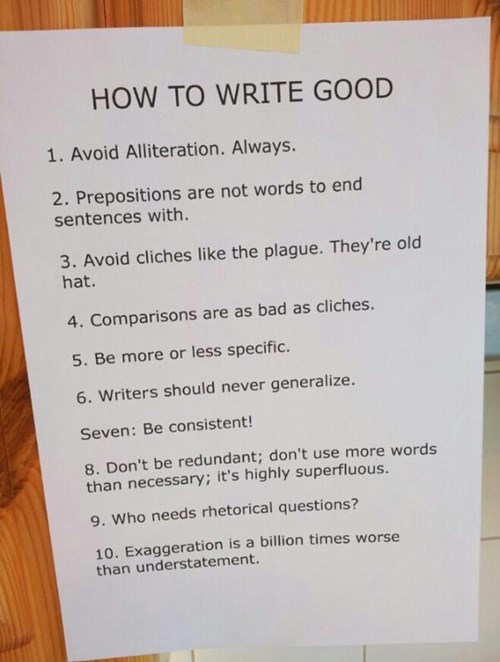 How to write satire