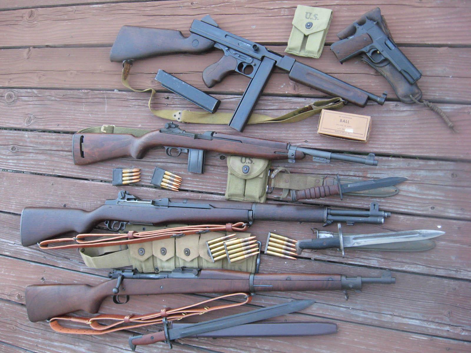лучшее стрелковое оружие второй мировой войны жена