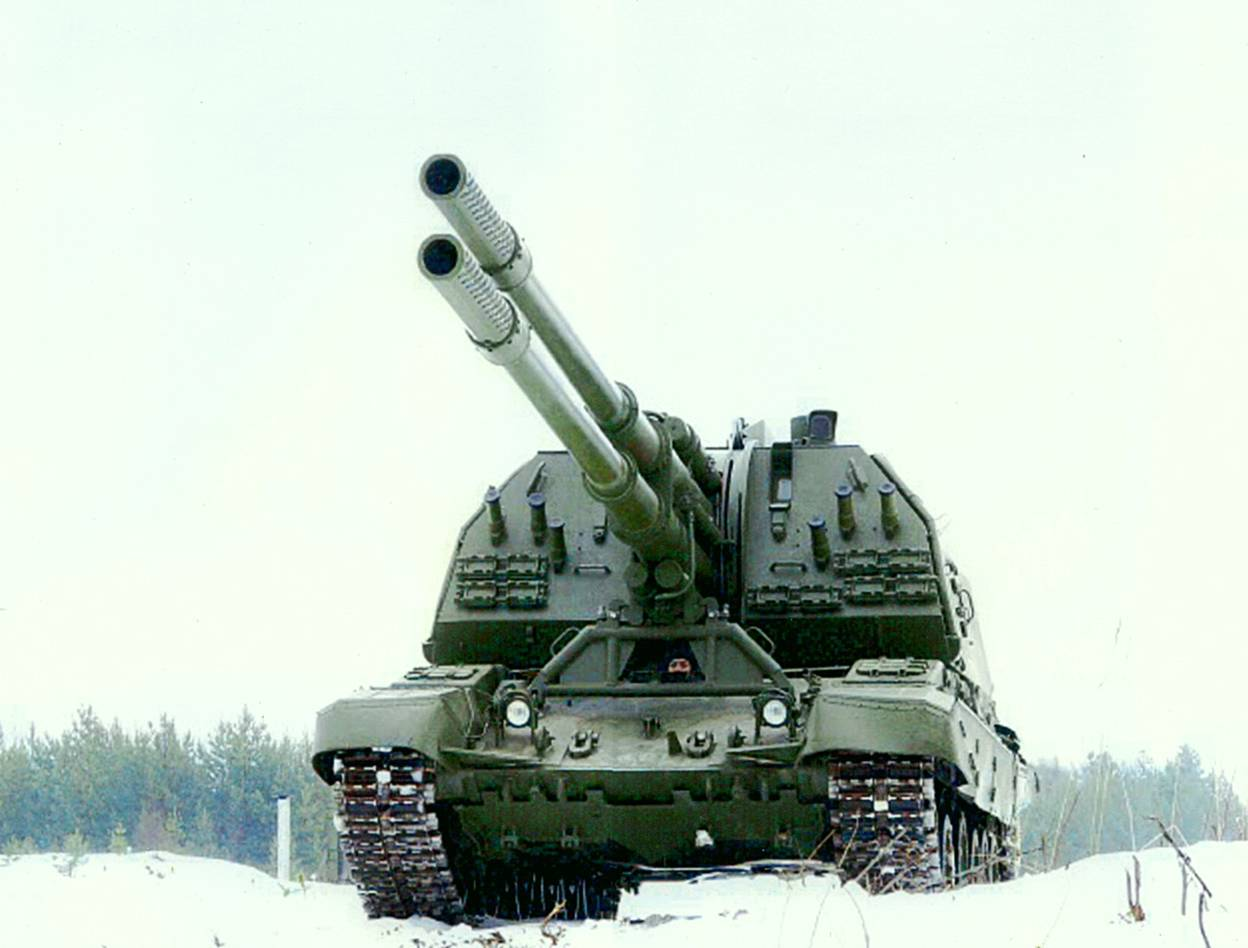 Twin 152mm Russian Artillery image - Mod DB