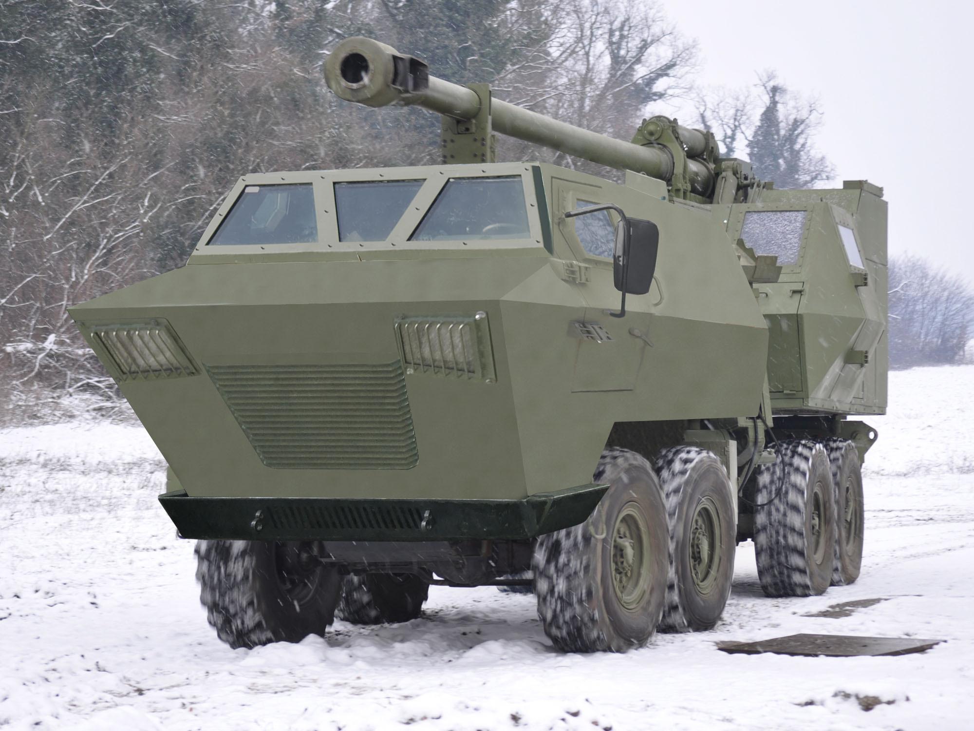 مدفعية الميدان المتحركة نورا NORA_B52