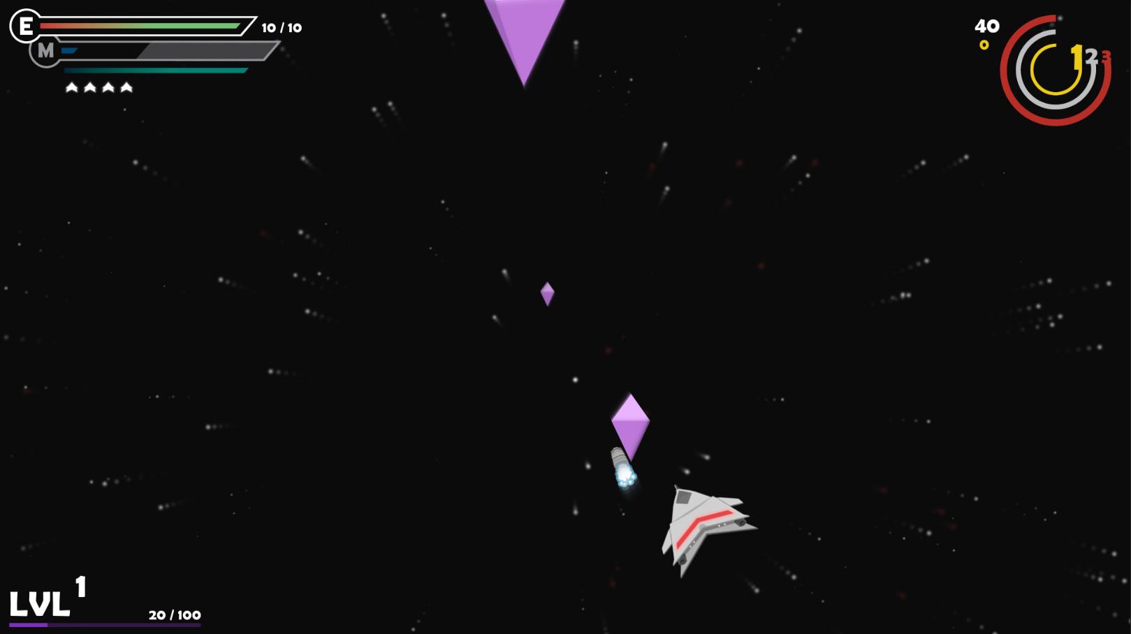Unbound Universe - Missile Shot