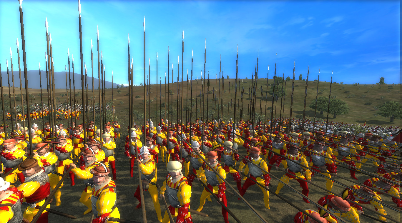 Showing the Roman Pikemen of Bologna