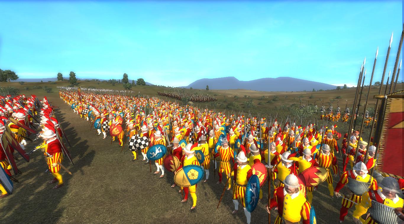 Showing the Italian Spear Militia of Bologna