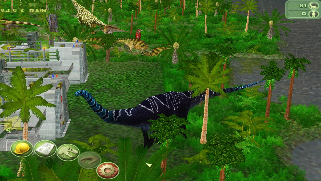 Drab sauropods based on mammalian megafauna? Heck no! But not a walking rainbow either.