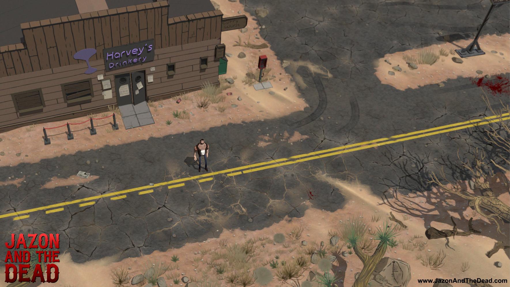 Jazon and the Dead - Desert Screenshot