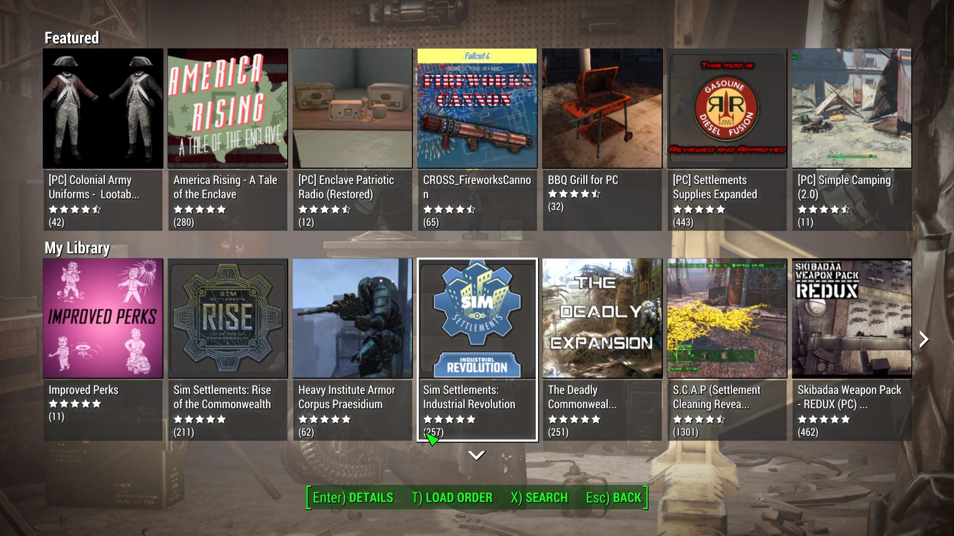 Best in-game mod UI Thread - Indie DB