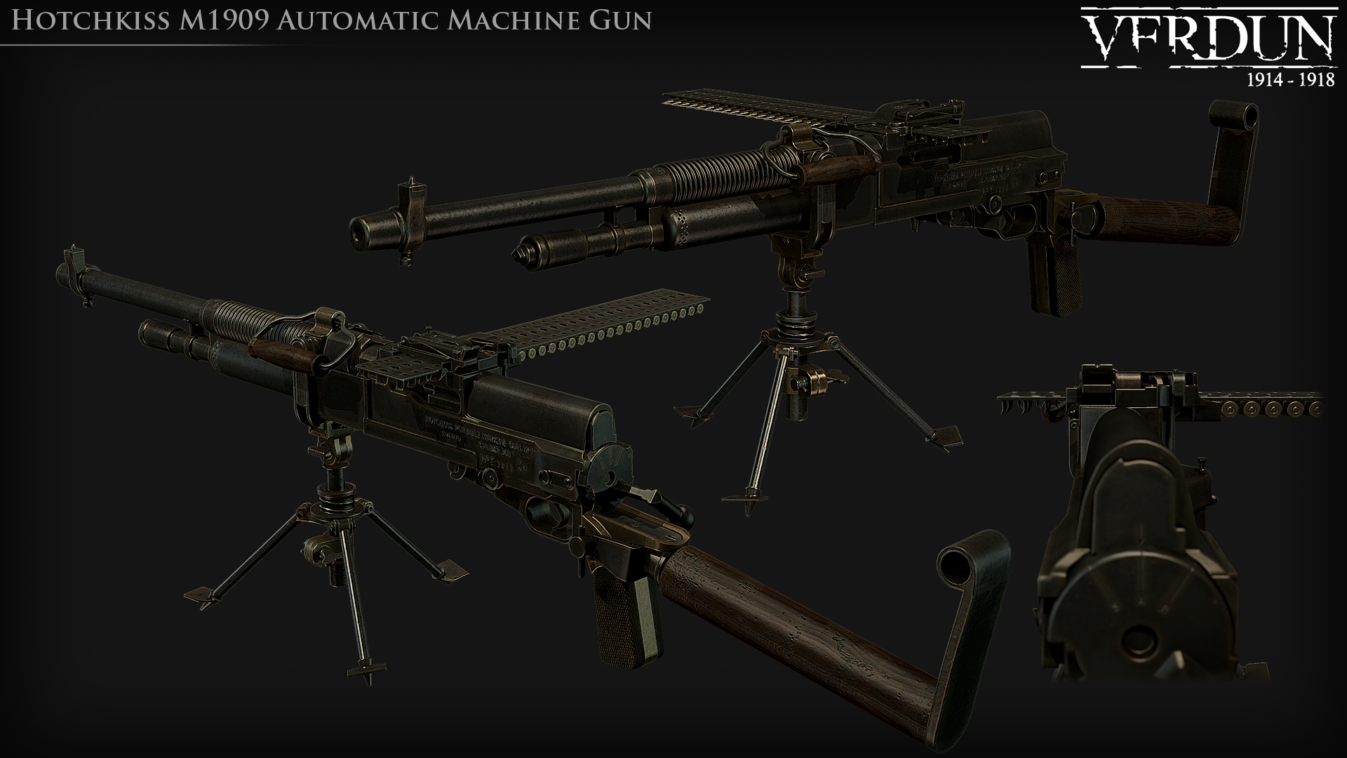 Weapons and Game Update news - Verdun - Mod DB