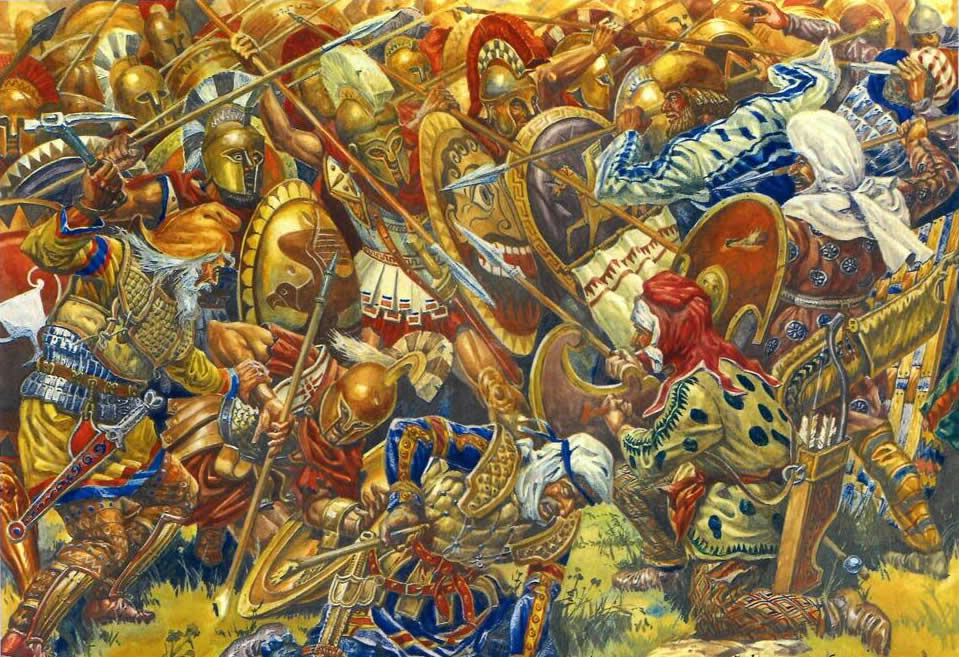The details of the trojan persian war