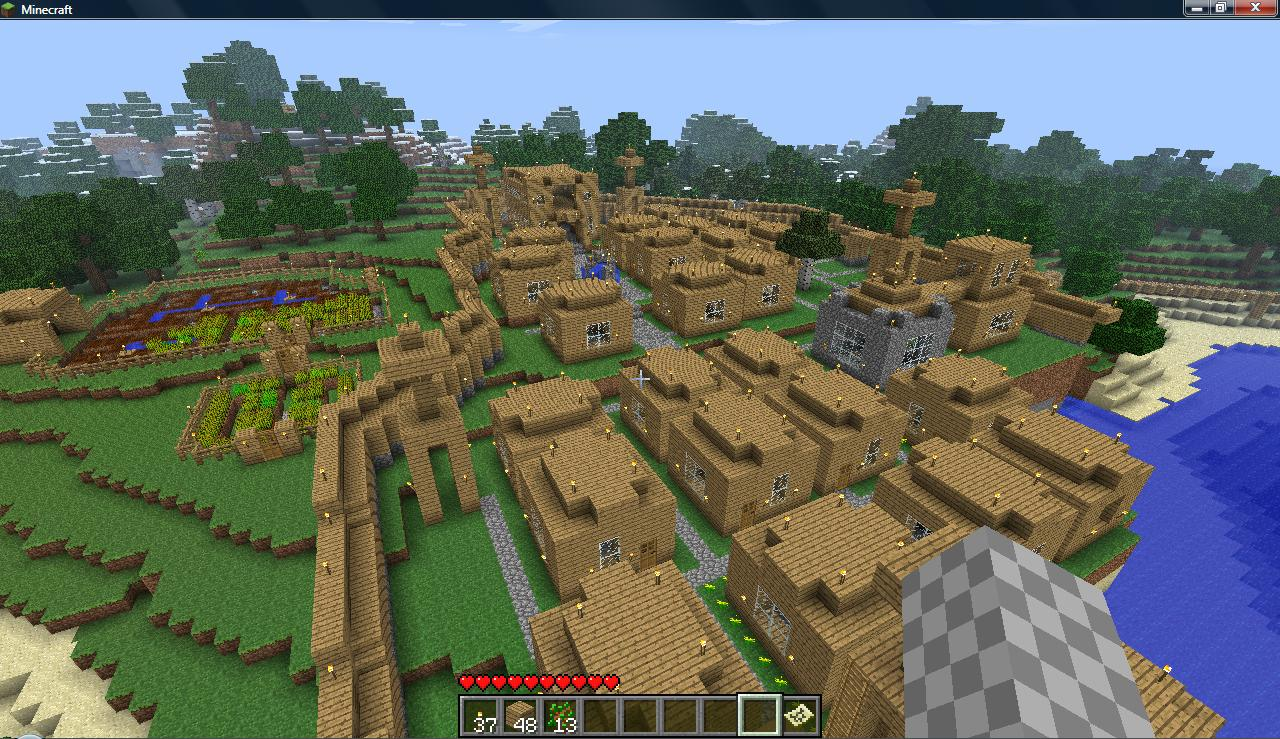 The Town Of Argos image - Minecraft Community - Mod DBargos town