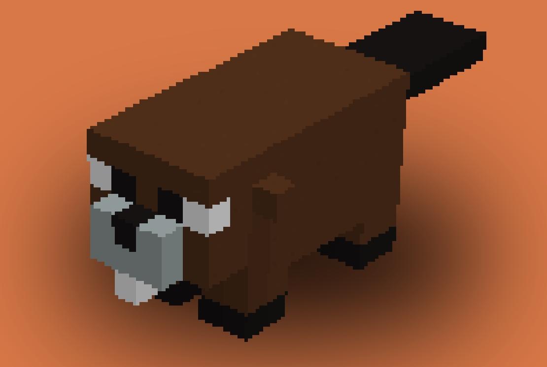 minecraft how to build ice lion pixelart