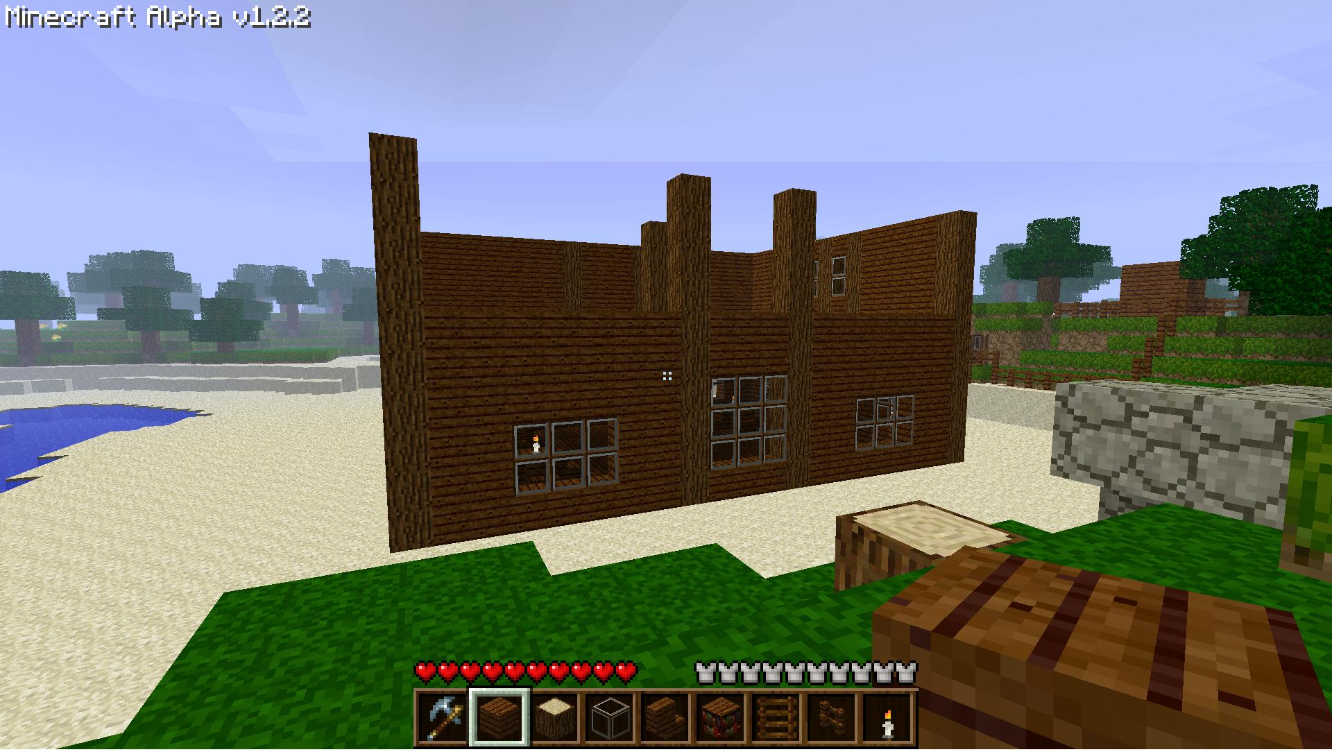 my old house and my new