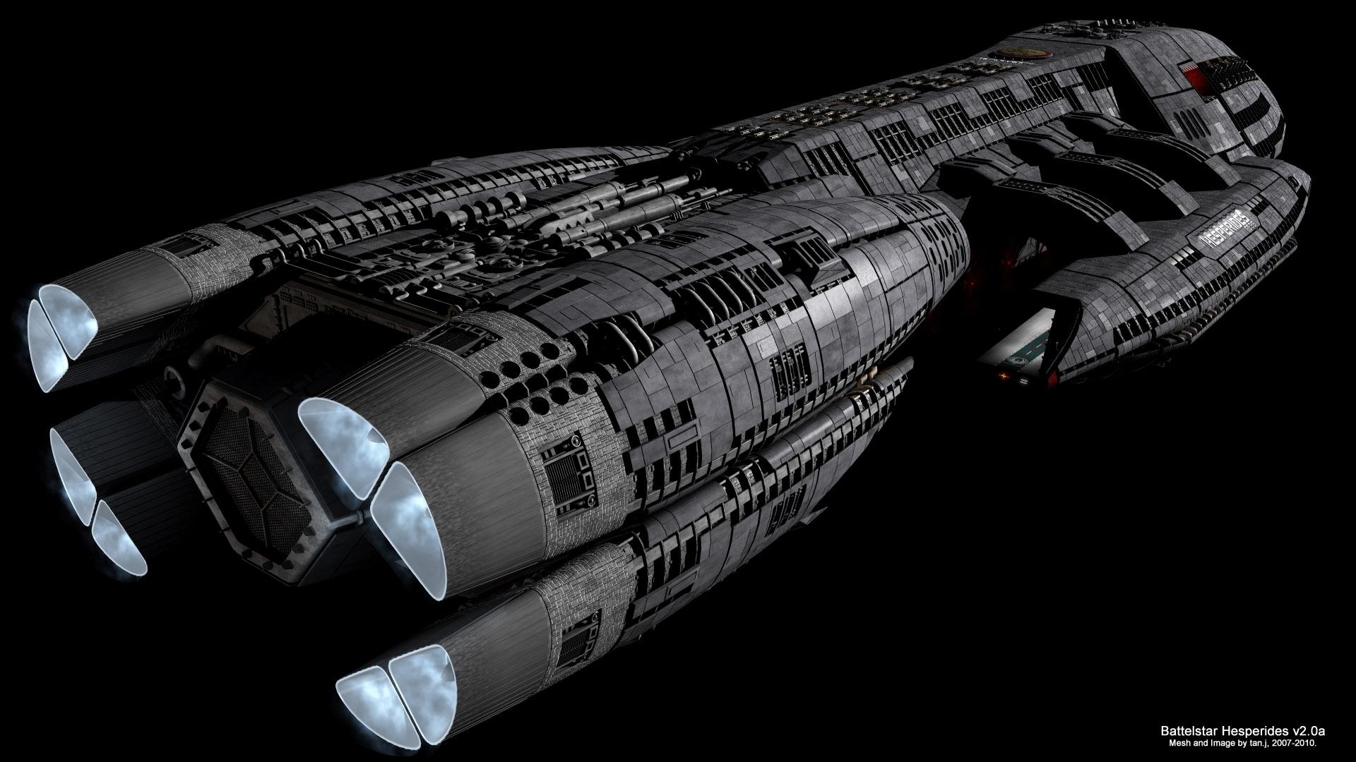 Battlestar HESPERIDES Image