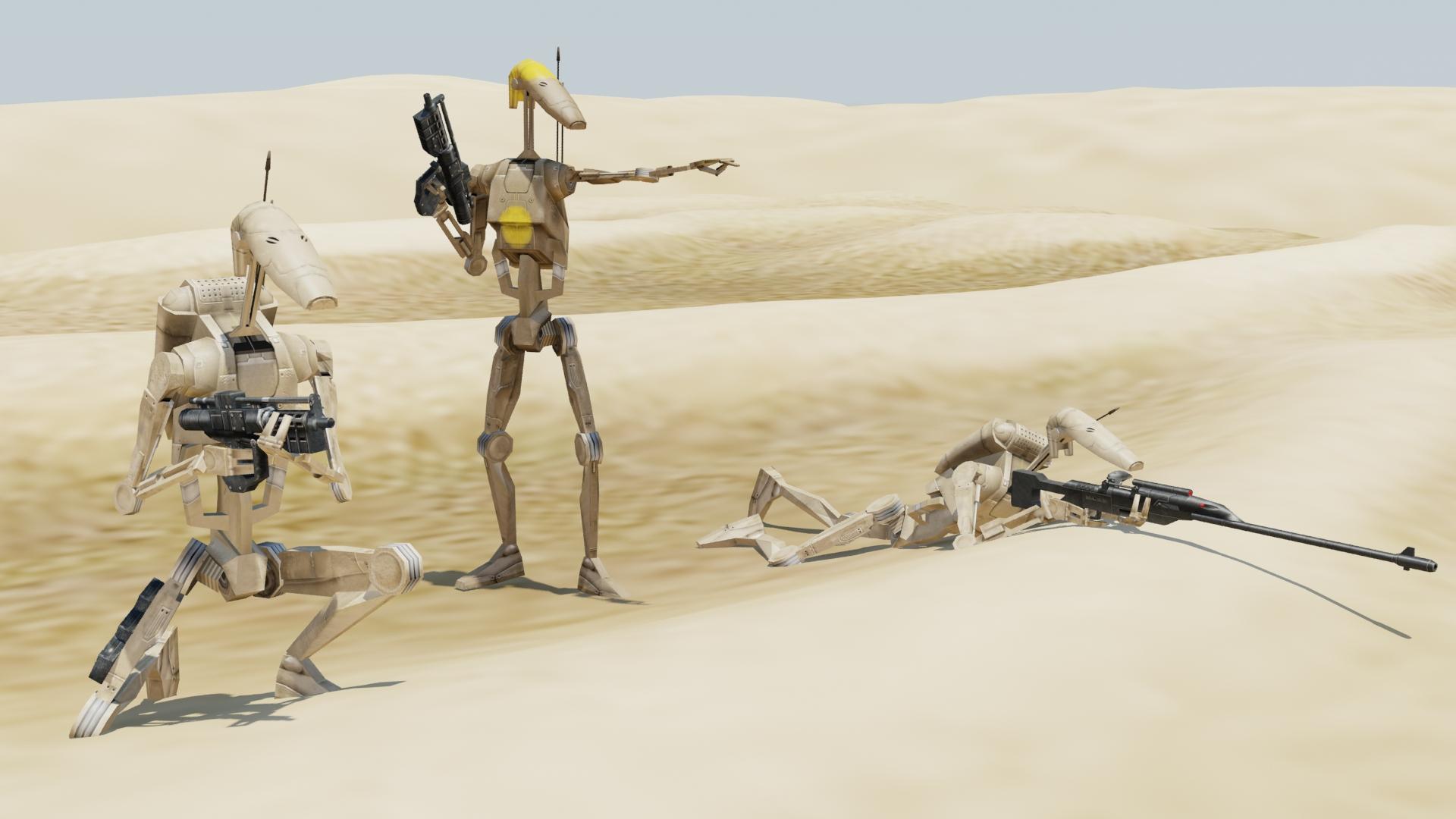 картинки армии дроидов уже