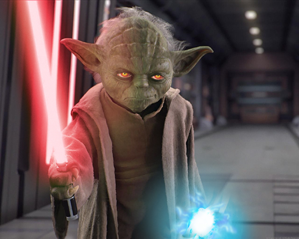 master yoda vs darth - photo #16