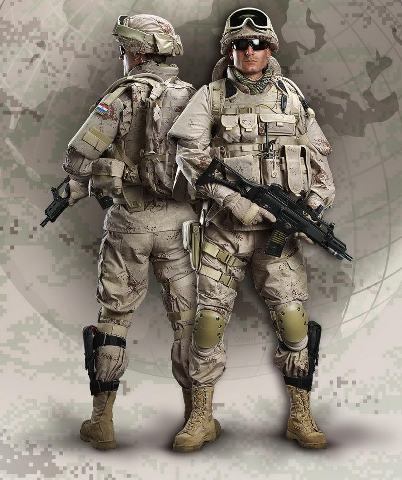Modern Croatian Army Equipment, Uniforms And Camo Image