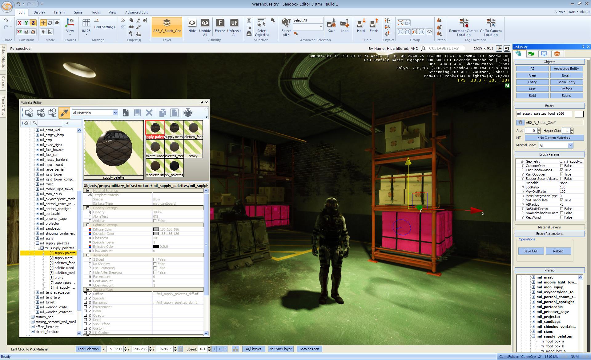 sandbox editor 3 screenshots image cryengine developers mod db