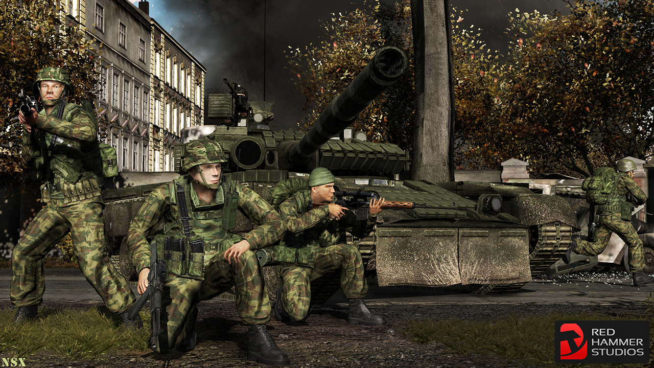 Rhs Promo Screens For Arma2 Image Red Hammer Studios