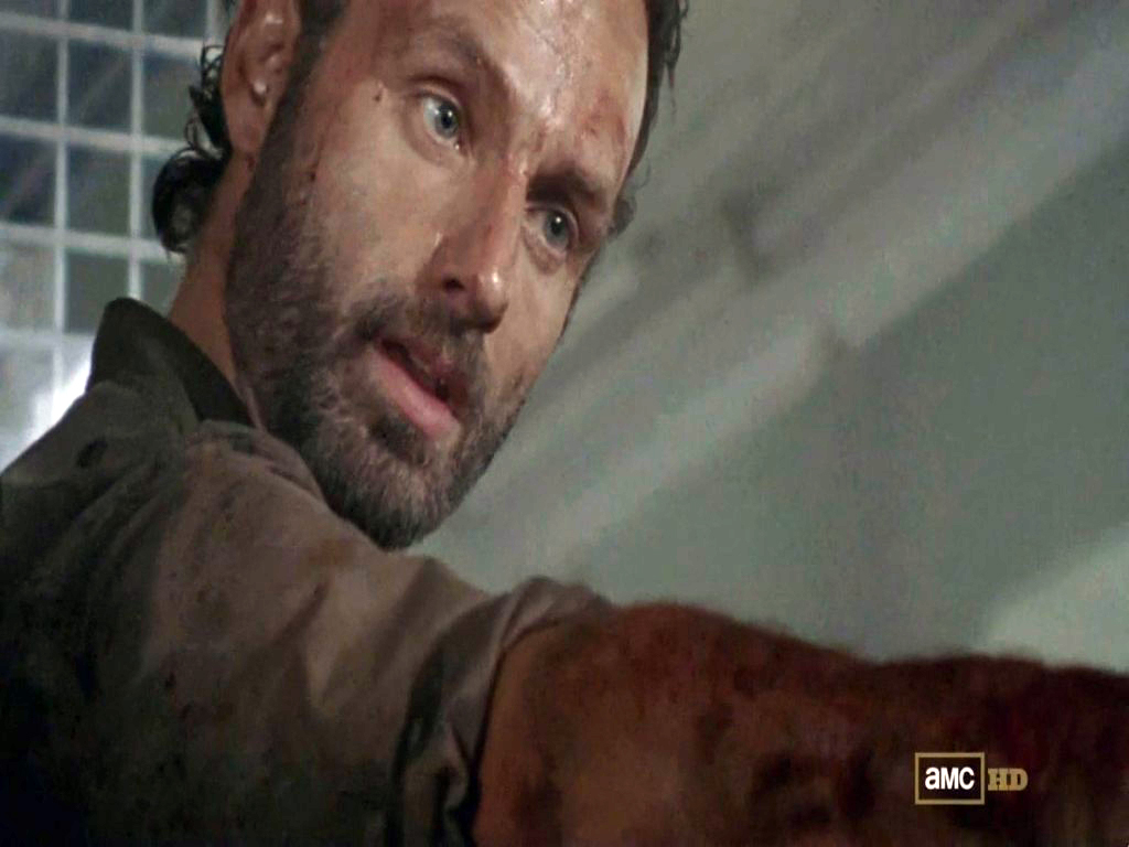 Media RSS Feed Report media Rick Grimes - The Walking Dead - Sick ...