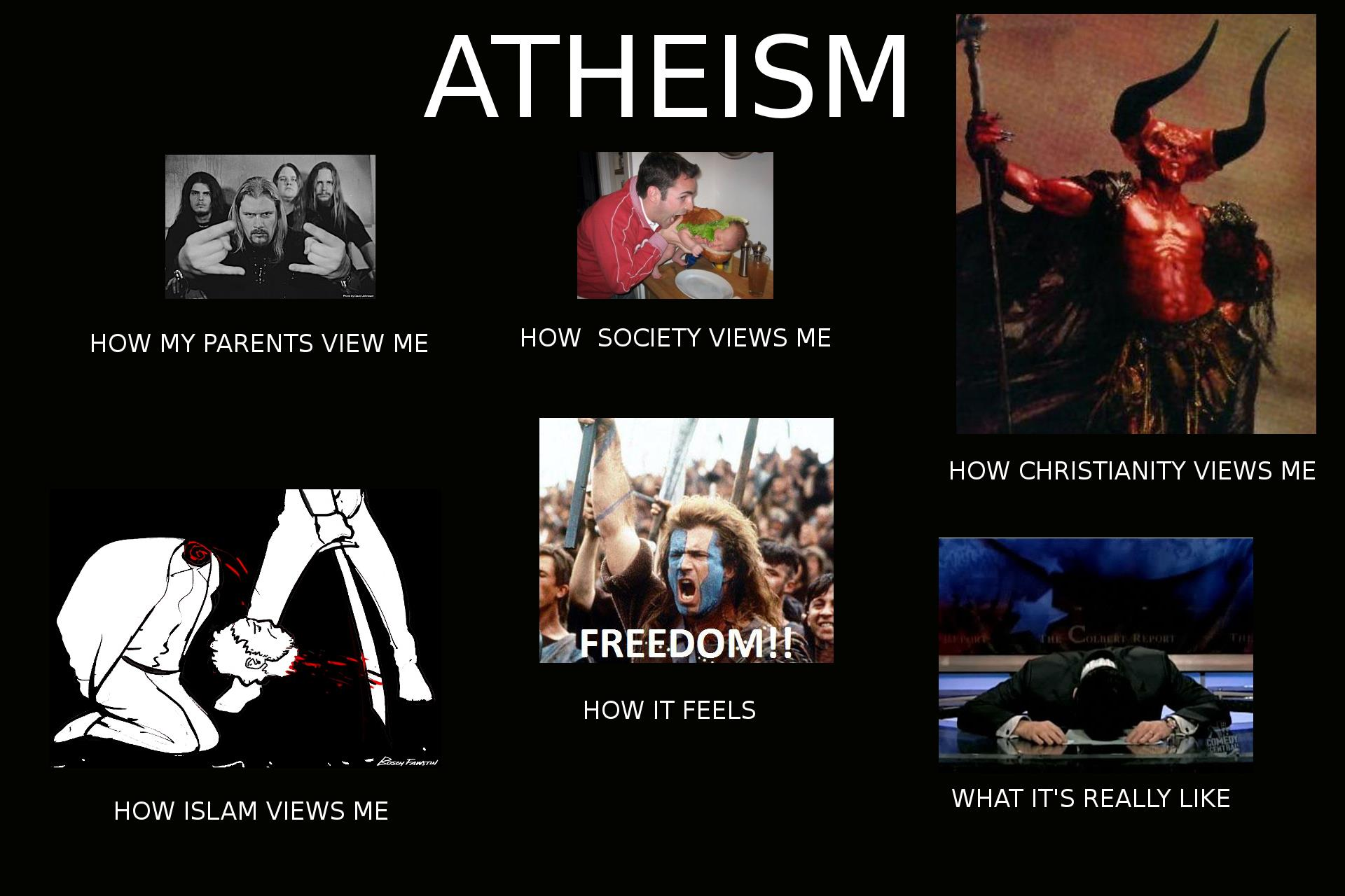 Anti theism vs atheist dating 9