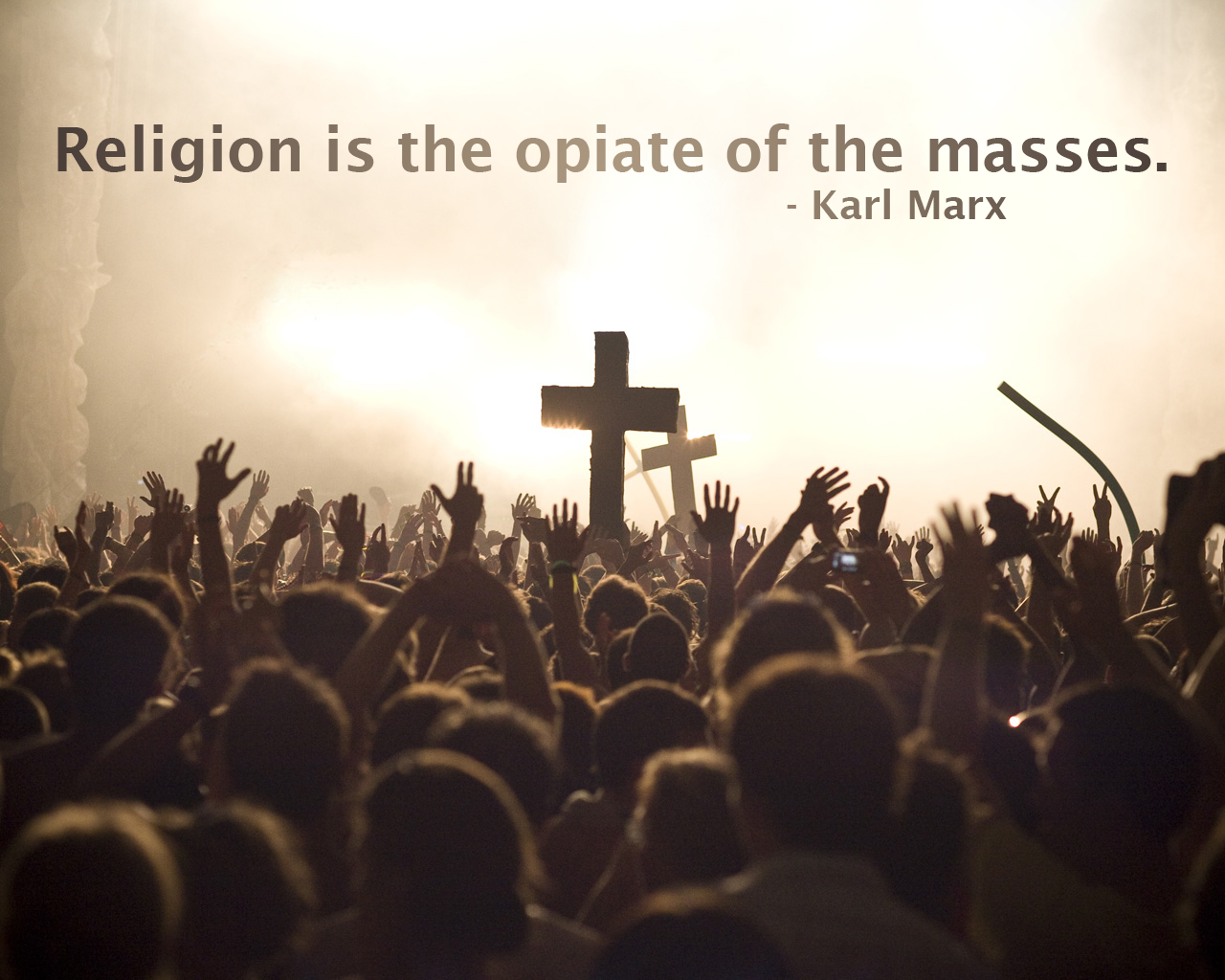 religion is the opium of the masses essay