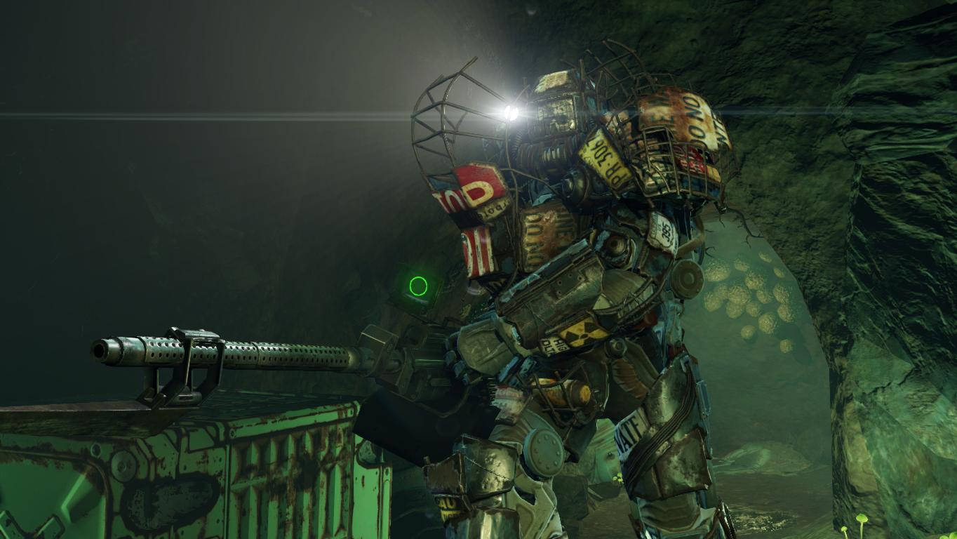 fallout 4 raider power armor build image mod db