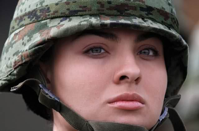 Mexican Female Soldier Image Females In Uniform Lovers