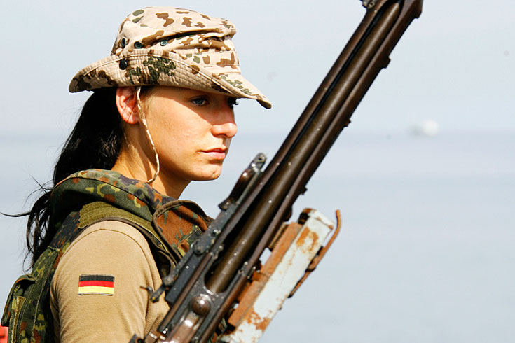 the Military women world of