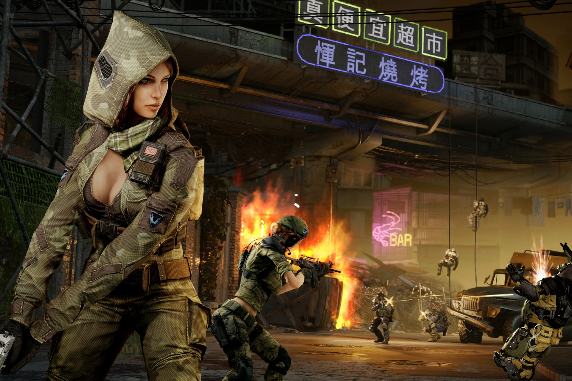 Warface Female Character Image - Females In Uniform -6805