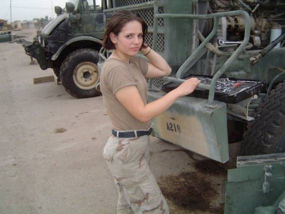 American Female Soldier Image - Females In Uniform Lovers Group - Mod Db-5966