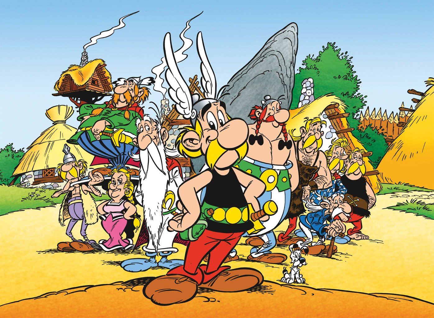 asterix friends