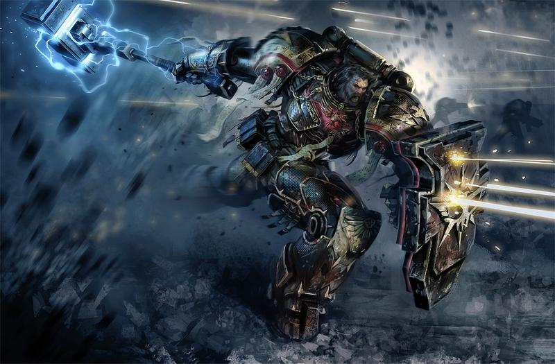 Warhammer K Game Room