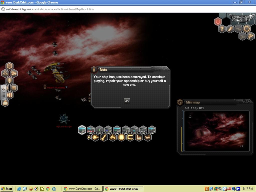 dark orbit gameplay image - SITH EMPIRE CLAN - Mod DB