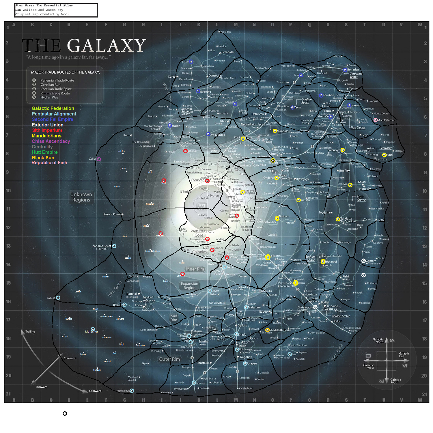 map of known galaxies - photo #31