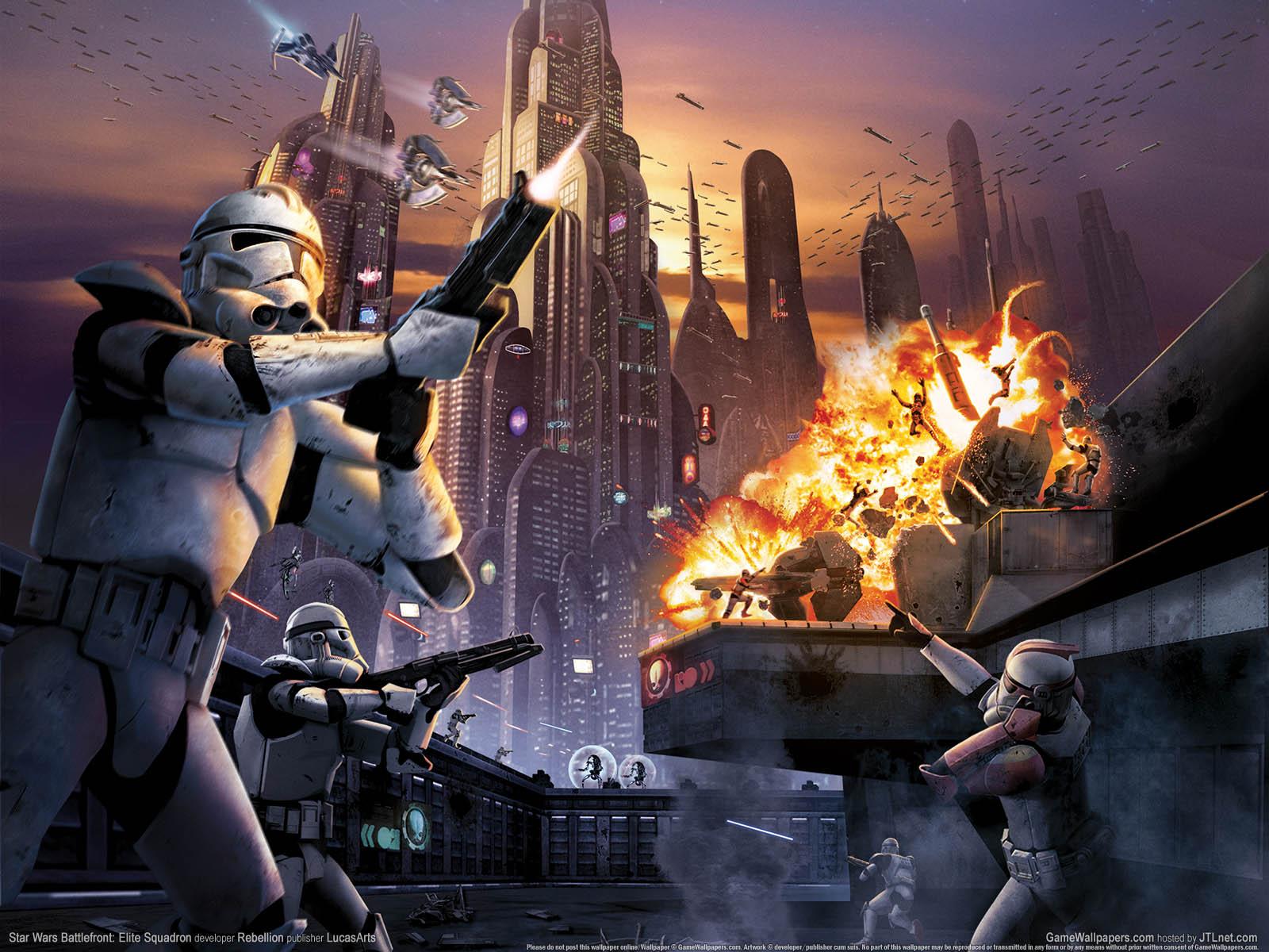 Star Wars Battlefront: Elite Squadron, game, pc games, игра, видео
