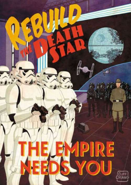 sith propaganda posters image - the galactic empire