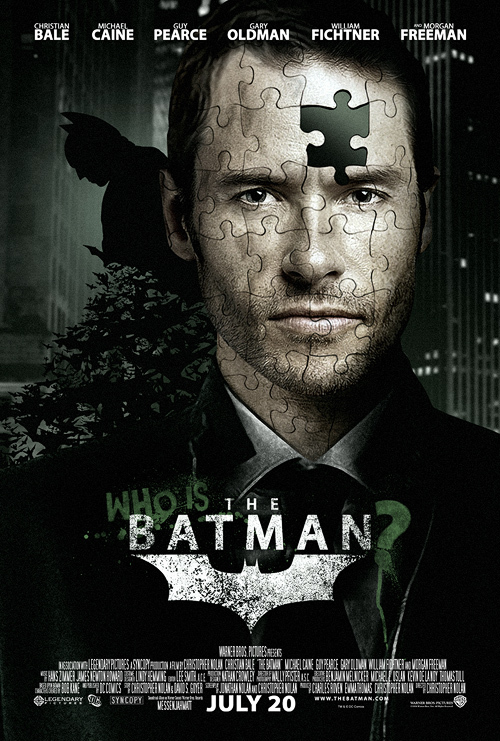 Who Is The Batman Poster Image