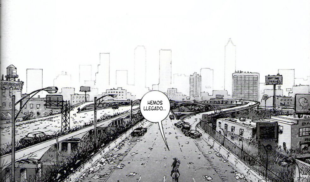Smudged Ink: The Walking Dead