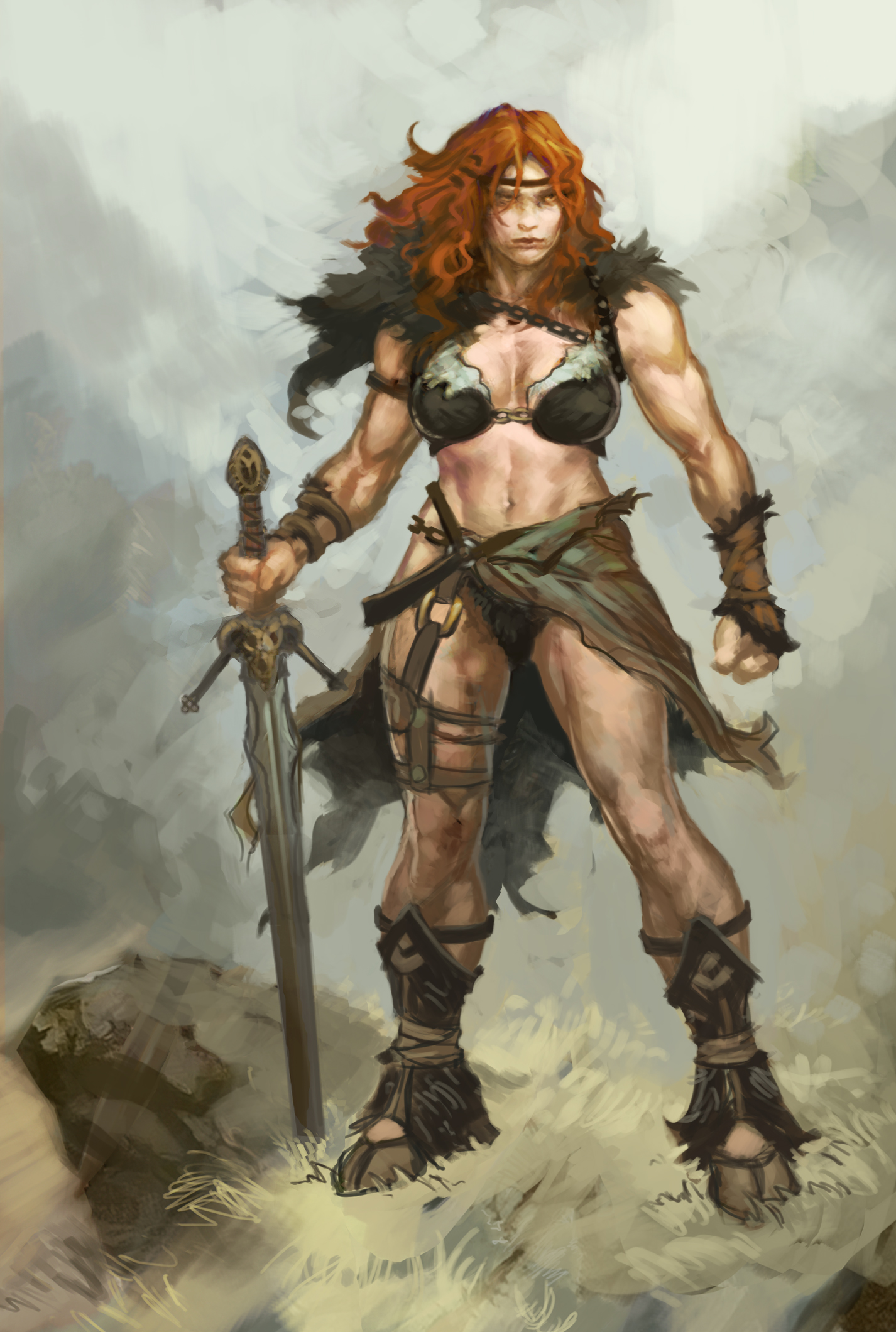 Barbarian she male adult picture