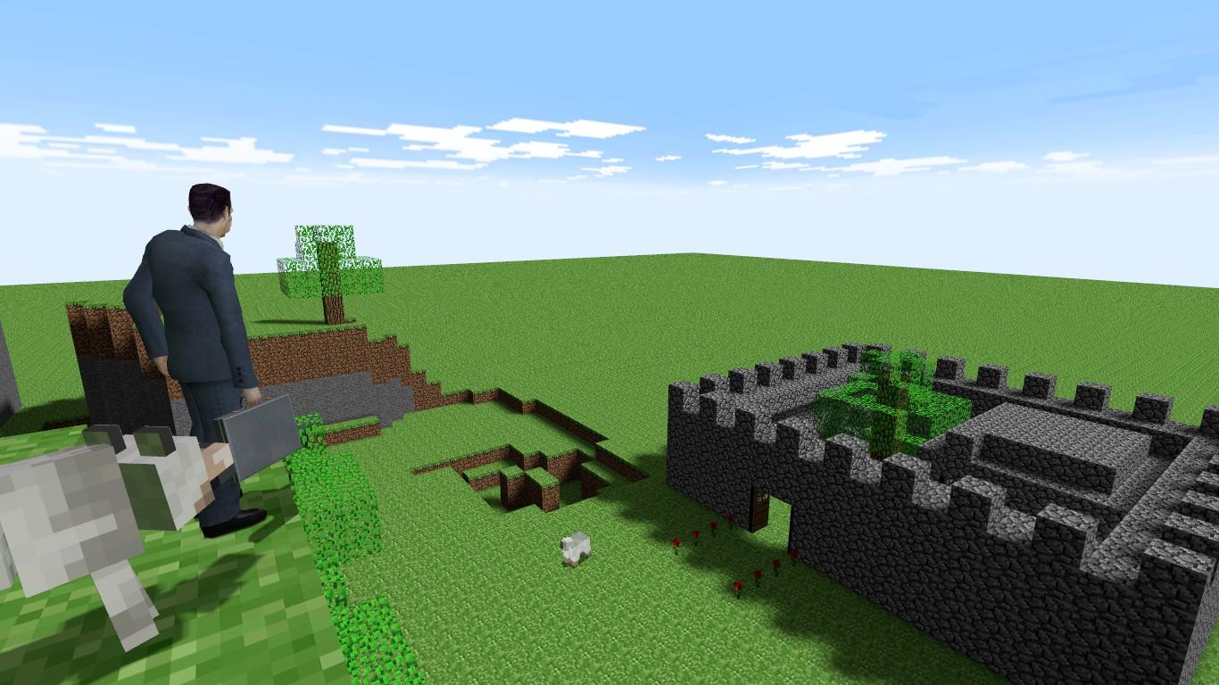 Zomg minecraft in gmod by garrys-mod-dude on deviantart.