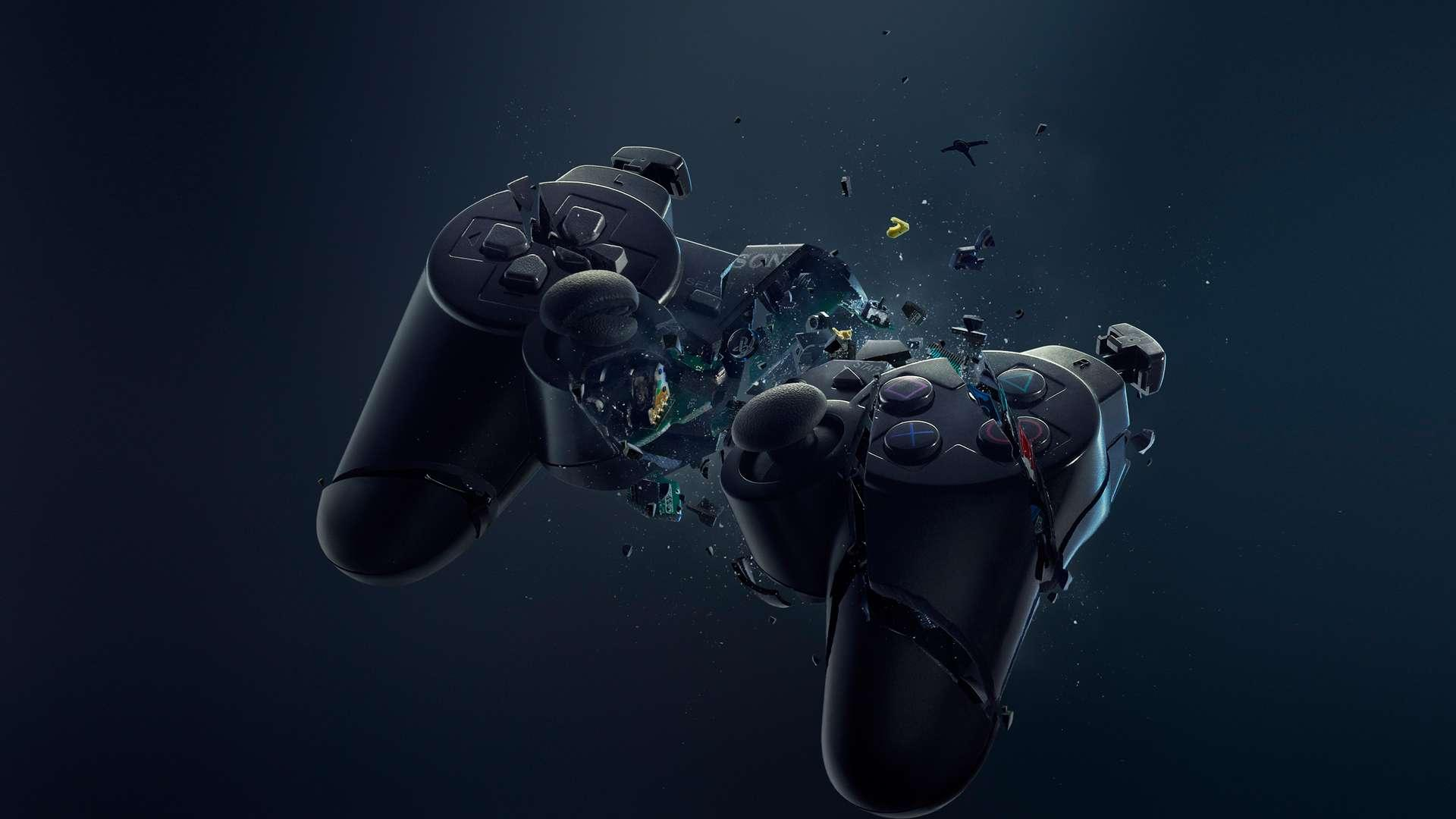 playstation 4 controller - wallpaper image - 8th generation gamers