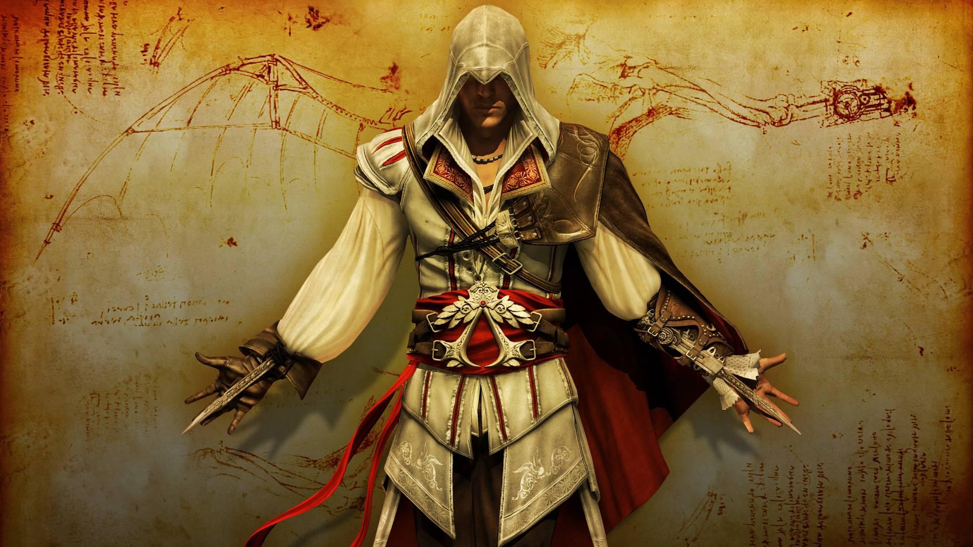 Add Media Report Rss Assassins Creed Ii Ezio Wallpaper View Original