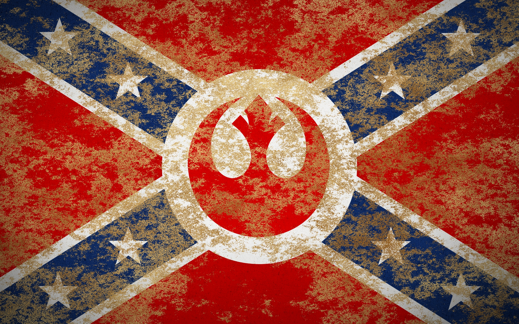 Rebel Alliance Yell (Rebel Confederate Flag) image - Le ...