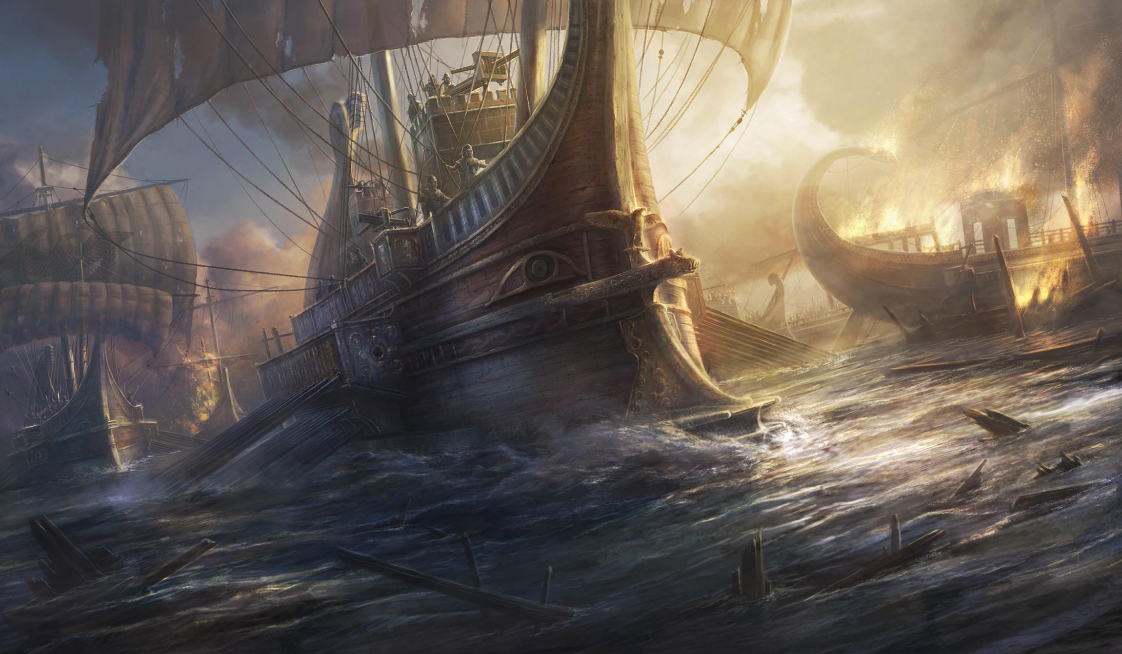 rome  sea battle concept image le fancy wallpapers