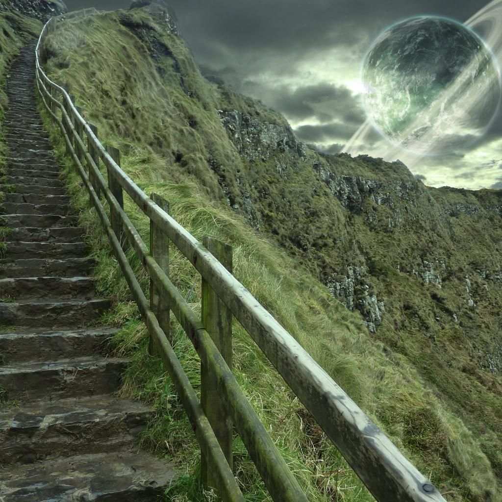Exoplanet Landscape Wallpaper - Pics about space